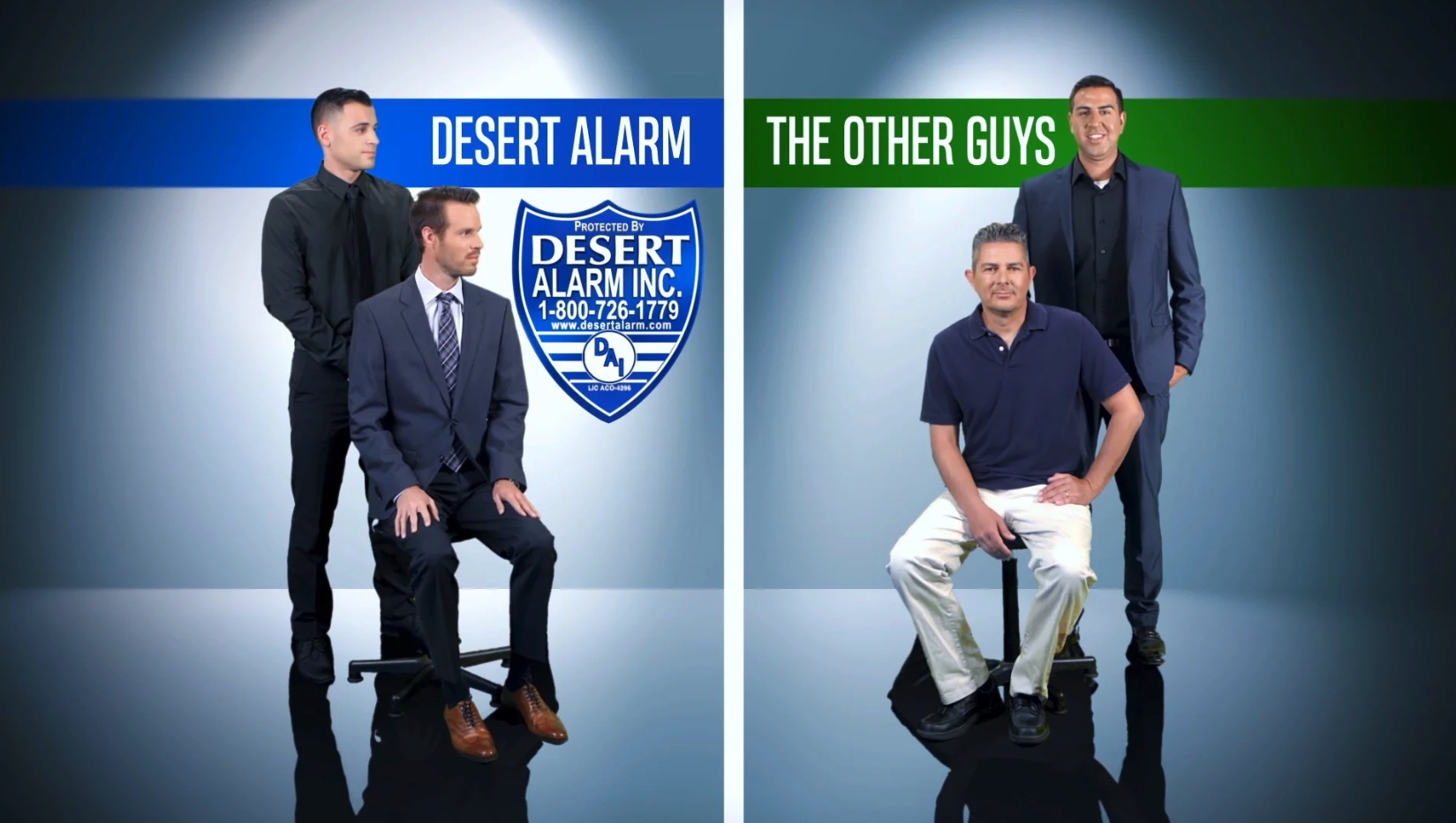 Home Security Systems | Alarm Response & Patrol Services | Desert Alarm